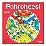 "Pressman Toy Pahrcheesi in Box, Red, 5"""