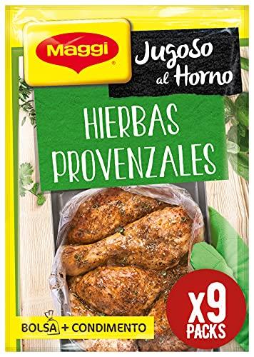 Maggi - Jugoso al Horno - Pollo a Las Hierbas Provenzales - 34 g - [pack de 9]