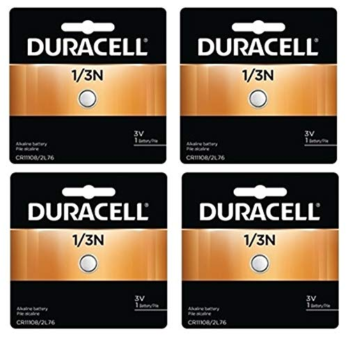 Duracell Photo Battery 3 V Model No. 1/3n Carded (Pack of 4)