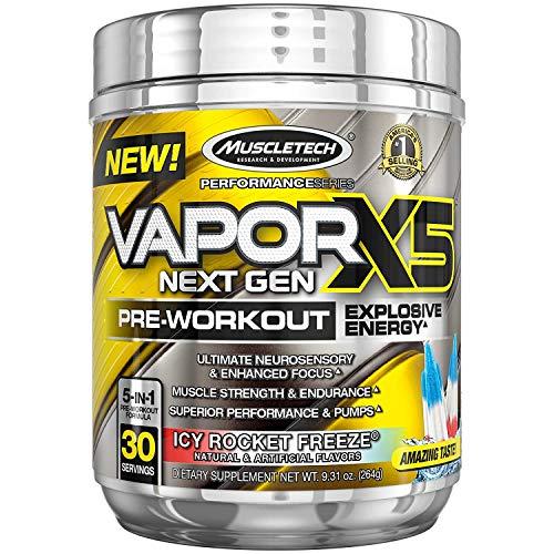 Pre Workout Powder | MuscleTech Vapor X5