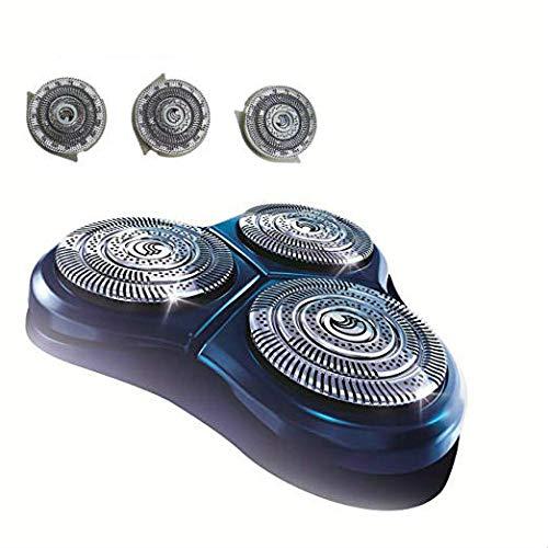 CORABLADE Cabezales HQ9 de repuesto compatibles con maquinilla de afeitar y cuchillas Philips Norelco Series HQ9 8140XL 8150XL 8160XL 8170XL 8171 8175
