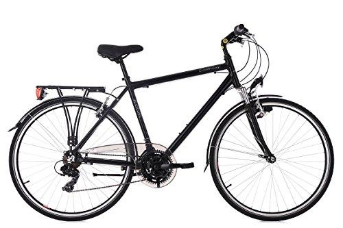 KS Cycling Trekkingrad Herren 28'' Canterbury schwarz Aluminiumrahmen RH54cm Flachlenker