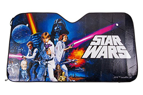 Star Wars STW121 Parasol Delantero Diseño Saga