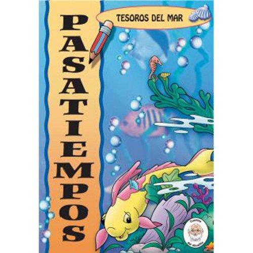 OCEAN TREASURES Libros de actividades-Dibujos para colorear-Rompecabezas-Creatividad para niños-Juegos de rompecabezas-Libros para colorear ... Abuelito: Tesoros del Mar) (Spanish Edition)