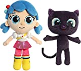 Aurora Plush True and The Rainbow Kingdom - Set of Two: 11 Inch True and 8.5 Inch Bartleby