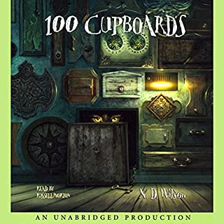 100 Cupboards audiobook cover art