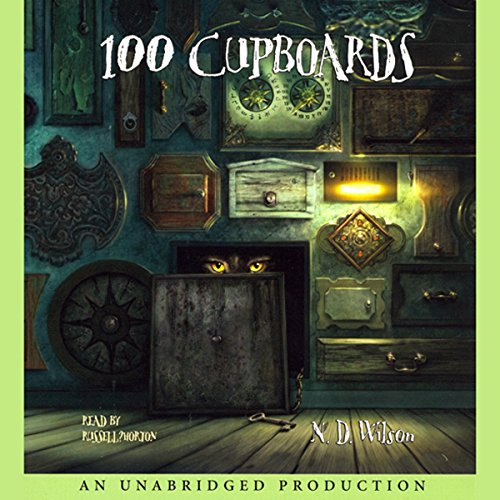 100 Cupboards     Book 1 of the 100 Cupboards              By:                                                                                                                                 N. D. Wilson                               Narrated by:                                                                                                                                 Russell Horton                      Length: 6 hrs and 23 mins     423 ratings     Overall 4.4