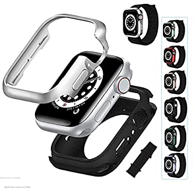 Amazon - 50% Off on Watch Case Protector with Band, Protective Cover for Apple Watch Series