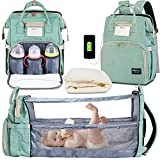 Happy Luoka Diaper Bag Backpack with Changing Station