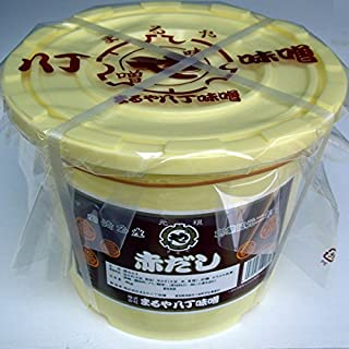 まるや八丁みそ 赤だし 八丁味噌 4kg ポリ樽 赤味噌 まるや八丁味噌(愛知)食品・調味料