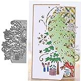 PiniceCore Árbol Navidad Stencilas Corte Metal Die para Dibujos...
