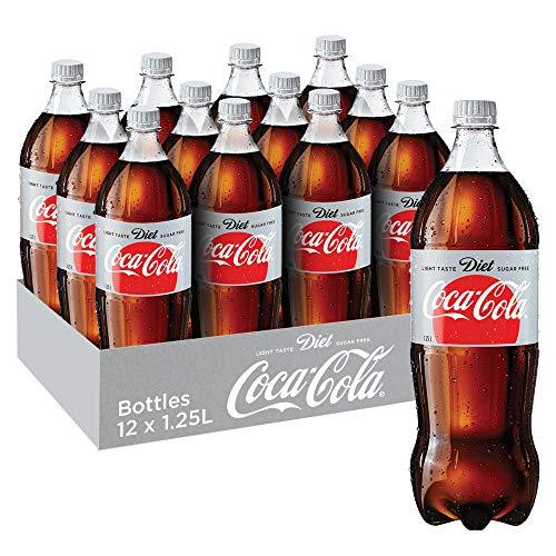 Coca-Cola Diet Soft Drink, 12 x 1.25 l