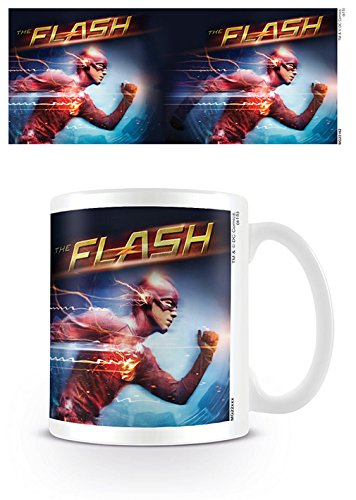 The Flash Running - Taza de cerámica