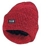 THMO - Mujer Termico Caliente Invierno Gorra Gorro con Thinsulate Forro Polar para Nieve (One Size, Roja)