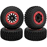Globact 4Pcs RC Wheel Set RC tires for High...