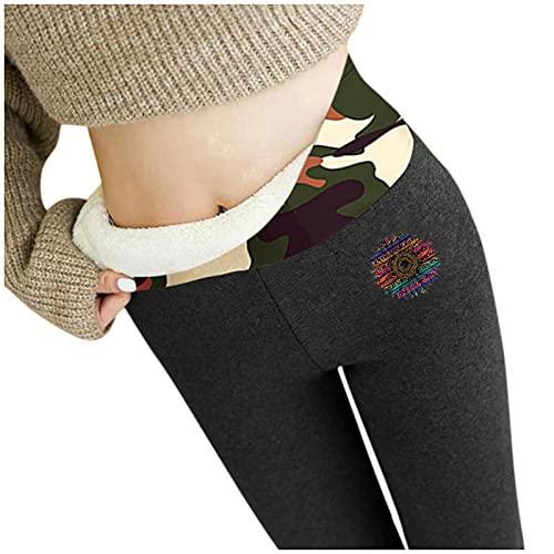 Alueeu Leggings Térmicos Pantalones Mujer Invierno pantalon...