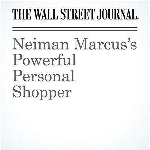 Neiman Marcus's Powerful Personal Shopper copertina