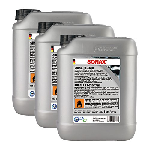 SONAX 3X 03405050 Gummipfleger Pflegemittel 5L