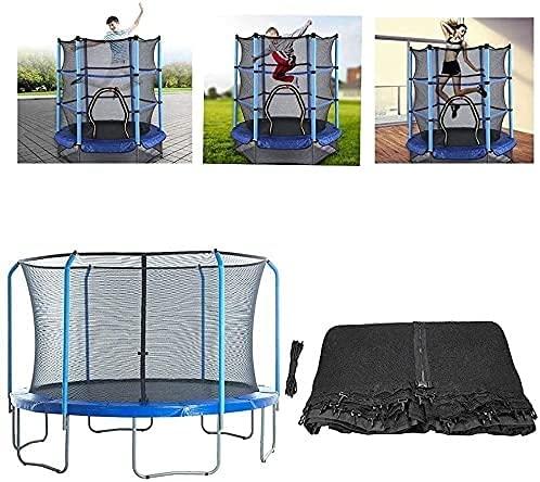 WXking Red de seguridad de repuesto para cama elástica de 12 pies, 13 pies, 15 pies, 16 pies, redes de seguridad de repuesto para la mayoría de camas elásticas solamente, 14 pies