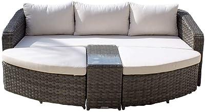 Amazon.com: TK Classics Monterey - Cama circular para el sol ...