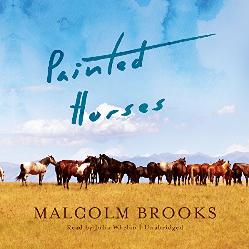 Painted Horses audiobook cover art