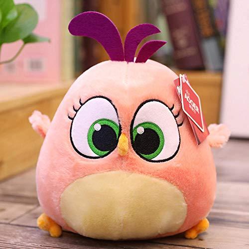 DONGER Angry Bird Doll Toy Bird Regalo de cumpleaños Zoe [Rosa] _10cm