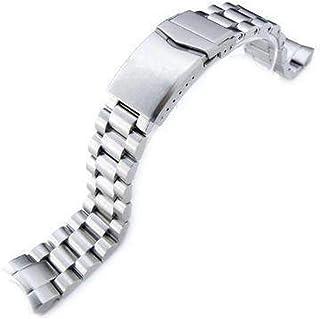 Cinturino orologio con cinturino 20mm Cinturino per orologio Endmill per SEIKO Sumo SBDC001, SBDC003, SBDC005, SBDC031, SB...