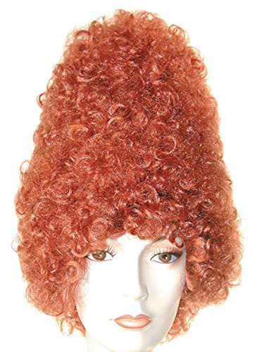 Lacey Wigs Adult Curly Beehive Costume Wig (Yellow) - http://coolthings.us