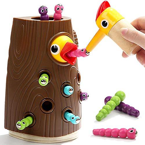Nene Toys - Lernspielzeug für Jungen und Mädchen 2 3 4 Jahre Alt - Magnetisches Kinderspiel mit Farben zur Kognitiven, Körperlichen und Emotionale Entwicklung von Fähigkeiten für Babys Vorschülern