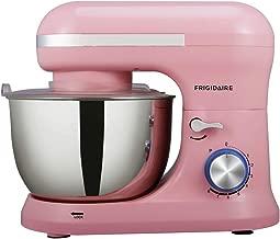 FRIGIDAIRE ESTM020-PINK Retro Stainless Stand Mixer, 4.75 quart, Pink