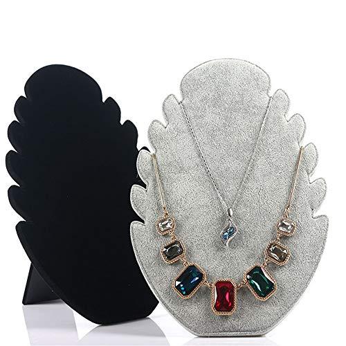 Necklace Storage Box Hermoso collar creativo exhibición de la exhibición de la exhibición de la joyería de la exhibición del soporte de la exhibición de la joyería Jewelry Decoration Accessories