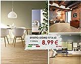 Piastrelle pavimento rivestimento gres porcellanato EFFETTO LEGNO 17 X 62 MADE IN ITALY