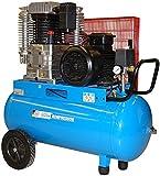 GÜDE 805/10/100 PRO - Compressore professionale 100 litri, alimentazione trifase. Adatto per usi gravosi
