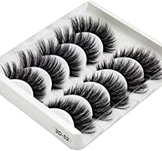 Majoxin 3D Handmade Chemical Fiber False Eyelashes Five Pairs Of Soft And Comfortable Cotton Wire Stem Stereo Multi-Layer Eyelashes