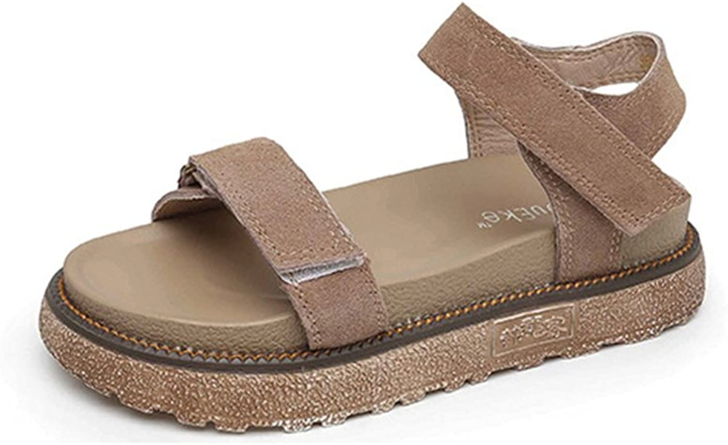 Navoku Women's Leather Skidproof Sandals Summer Sandles
