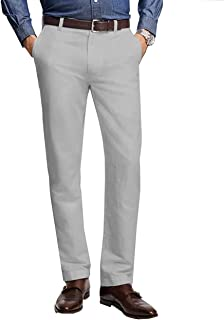 Brooks Brothers Mens Blue Clark Fit Cotton Stretch Chinos