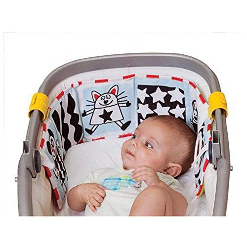 AZX Nette Baby Galerie Infant Kind Krippe Pram Galerie Entwicklung Puzzle Tier Tuch Buch Spielzeug