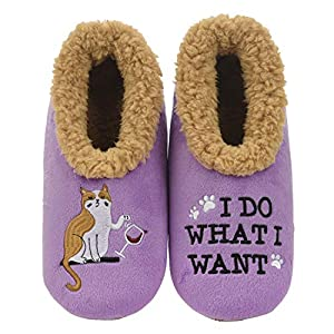 Snoozies Slippers for Women – Pairables Womens Slippers – I Do What I Want