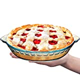 NUTRIUPS 7.5 in Small Pie Pan for Two Glass Pie Plate...