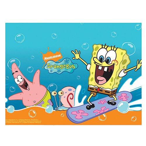 Nickelodeon Kunststoff Spongebob Schwammkopf Tischdecke, 1,8m x 1,2m