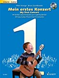 My First Concert: 44 Easy Guitar Pieces From 5 Centuries, Edition With CD