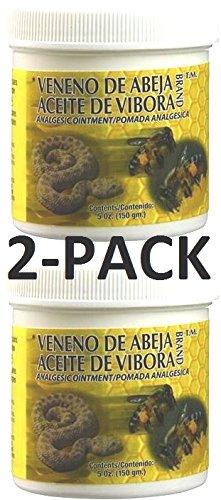 Veneno De Abeja Aceite De Vibora 5 oz. 2-Pack'The Original'