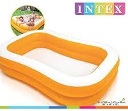 Intex Mandarin Swim Center Family Swimming Pool 57181, Orange