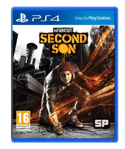 PRE-ORDER! inFAMOUS Second Son Sony Playstation 4 PS4 Game UK [Edizione: Regno Unito]