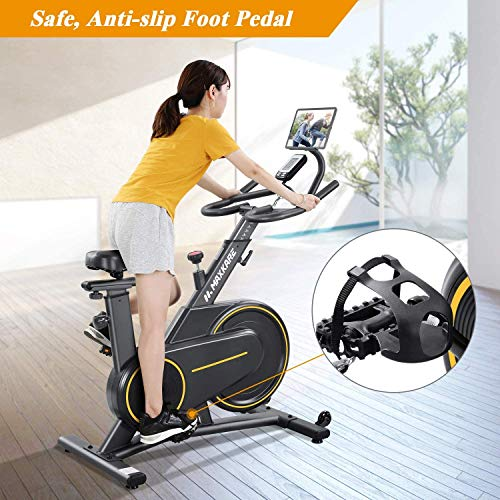 Reach Maxkare Alloy steel Magnetic Resistance Exercise Cycle (Black)