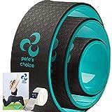 Rueda de Yoga 3 Pack - Pierde Peso y Ponte en Forma con la Yoga Wheel I Kit de Yoga de 3 Unidades I Yoga en Casa I Mejora la Postura