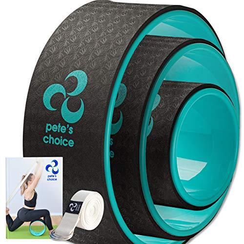 Rueda de Yoga 3 Pack - Pierde Peso y Ponte en Forma con la Yoga Wheel I Kit de Yoga de 3 Unidades I Yoga en Casa I Mejora la Postura ⭐