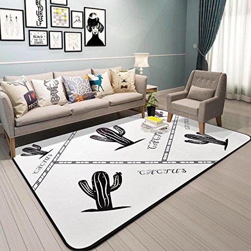 GRENSS Cactus Teppich für Bett Zimmer Moderne Teppiche Wohnzimmer Teppiche Bape Matten 100 * 150 cm Weiche Kinder Teppich Home Zimmer Matten Fußmatte, ZZM 0102,1000 MMx1500MM