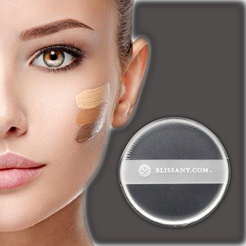 Silikon MakeUp Schwamm, mit praktischem Halteband zum vereinfachten Auftragen des Make-Ups | von BLISSANY