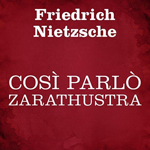 Così parlò Zarathustra audiobook cover art